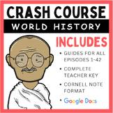 Crash Course World History Episodes 1-42 (Bundle)