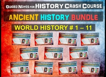 Crash Course World History GUIDED NOTES