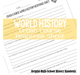 Crash Course World History Response Page