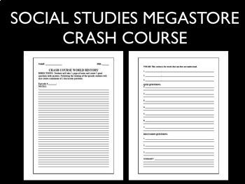 Crash Course World History Second Semester (Ep. 36-42)