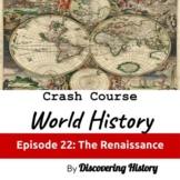 Crash Course World History: The Renaissance Worksheet