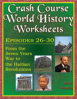 Crash Course World History Worksheets Episodes 26-30