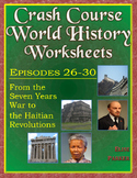 Crash Course World History Worksheets Episodes 26-30