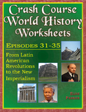 Crash Course World History Worksheets Episodes 31-35