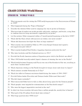 World History Worksheets | Homeschooldressage.com