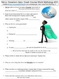 Crash Course World Mythology #31 (Ma'ui, Oceania's Hero) worksheet
