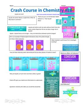 Crash Course in Chemistry 26 Liquids