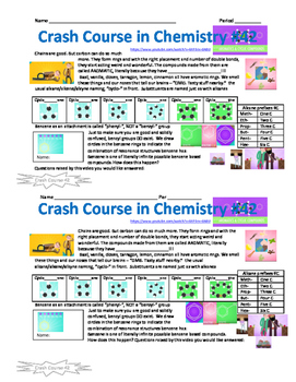 Crash Course in Chemistry 42 Aromatics and Cyclic Compounds