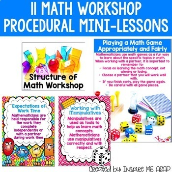 Guided Math and Math Workshop