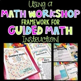Guided Math and Math Workshop BUNDLE