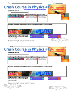 Crash Course in Physics 10 Collisions