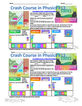 Crash Course in Physics 13 Statics
