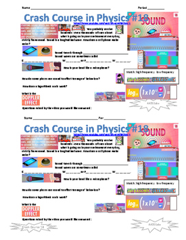 Crash Course in Physics 18 Sound
