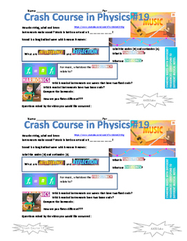 Crash Course in Physics 19 Music