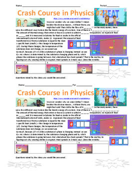 Crash Course in Physics 22 Heat