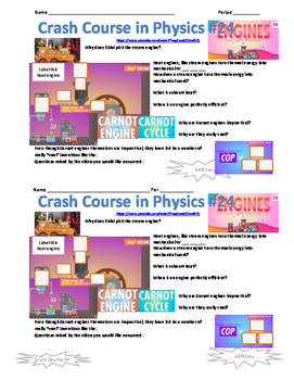 Crash Course in Physics 24 Engines