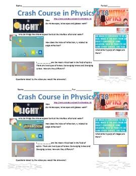 Crash Course in Physics 38 Geometric Optics