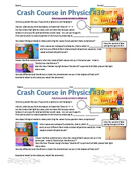 Crash Course in Physics 39 Light is Waves