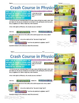 Crash Course in Physics 40 Spectra, Interference and Polarization