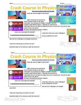 Crash Course in Physics 44 Quantum Mechanics Part 2