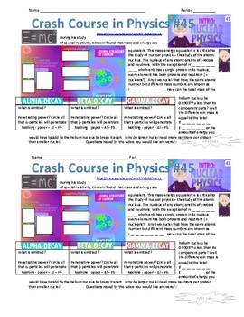 Crash Course in Physics 45 Nuclear Physics