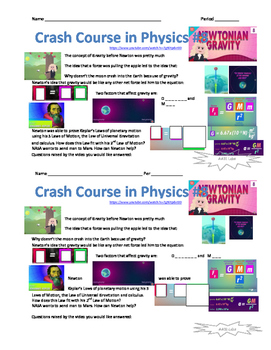 Crash Course in Physics 8 - Newtonian Gravity