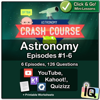 Crash Course Astronomy #1-6