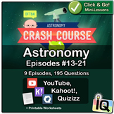 Crash Course Astronomy #13-21