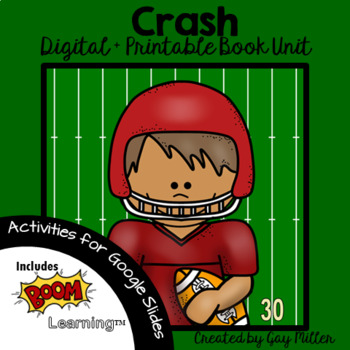 Crash By Jerry Spinelli Worksheets Teaching Resources TpT