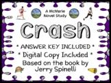 Crash (Jerry Spinelli) Novel Study / Reading Comprehension (37 pages)