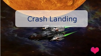 Crash Landing - a space themed comprehension