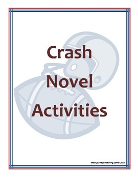 Crash Novel Activities