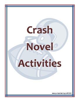 Crash Novel Activities
