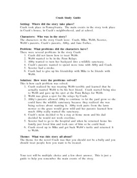 Crash Study Guide