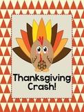 Crash! Thanksgiving Sight Word Game