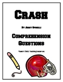 Crash, by J. Spinelli, Comprehension Questions