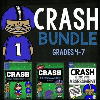 Crash By Jerry Spinelli Teaching Resources Teachers Pay Teachers