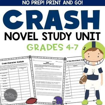 Crash by Jerry Spinelli CCSS Novel Study Unit