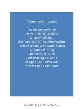 Crash by Jerry Spinelli Complete Literature and Grammar Unit | TpT