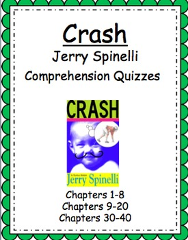 Crash by Jerry Spinelli Comprehension Quizzes