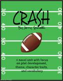 Crash by Jerry Spinelli - NO PREP Novel Unit Bundle