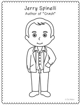 Crash Novel Novel Unit Study Activities, Book Companion Worksheets, Project