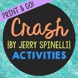 Crash Novel Novel Unit Study Activities, Book Companion Wo