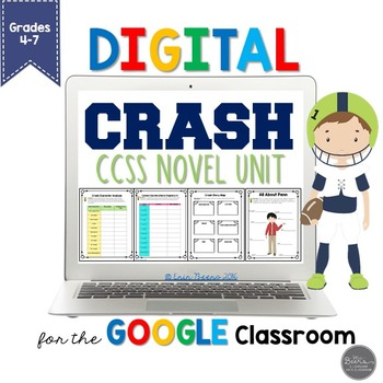Crash By Jerry Spinelli For Google Slides Common Core Aligned Tpt