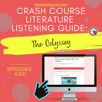 Crash Course Literature: The Odyssey Listening Guide