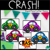 Crash! letter & sound recognition game in English & Spanish UPDATED