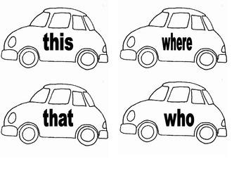 Crash- sight word game