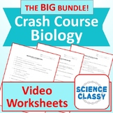 Crash Course Biology Bundle (Crash Course Video Guides plus more!)