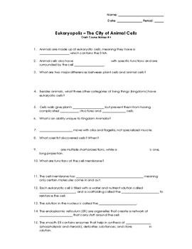 CrashCourse Biology #4 Animal Cells