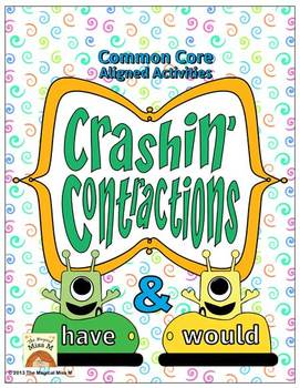 Crashin' Contractions: {Have & Would} Word Work